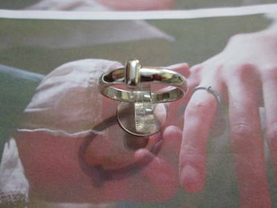 Outlander ring from Claire of sterling Silver 925 - artisan product