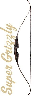Bear SUPER Grizzly Recurve Bow, Traditional Bow, Traditional Archery Hunting Bow