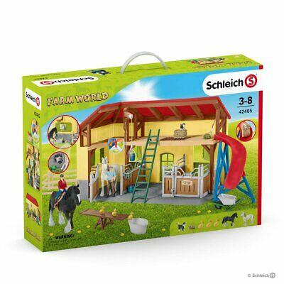 Schleich 42333 Farm World Large Farm with Animals and Accessories Play Set