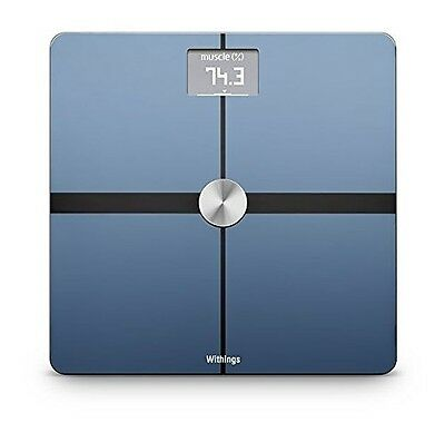 Withings Body, Composition Wi-Fi Scale, Position Control Technology, Black New