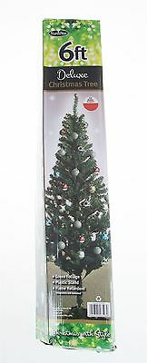 6ft Green Deluxe Christmas Tree Home Decoration
