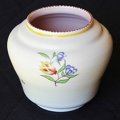Poole Pottery Vase, Traditional Style, Bulbous Size, Shiny, Excellent Condition