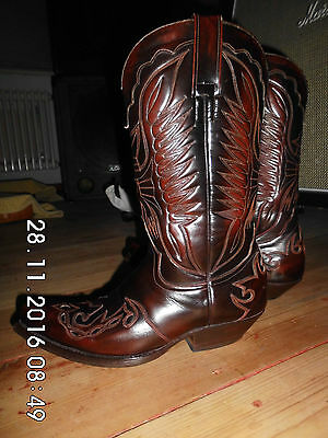 Vintage Sendra Boots, cowboy, western boots