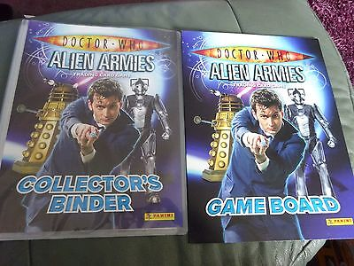 Doctor Who Alien Armies Trading Card Game