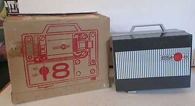 Eumig Mark 8 Movie Projector 8Mm Cine Movie Film Projector Tested Boxed Mint