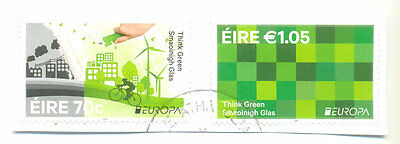 Ireland-Think Green-Europa 2016 fine used-Conservation