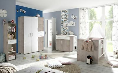 babybett babyzimmer komplett wickelkommode kinderzimmer. Black Bedroom Furniture Sets. Home Design Ideas