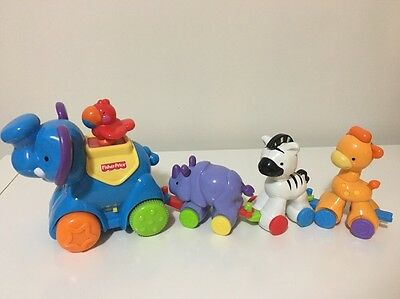 Fisher Price Press and Go Parade