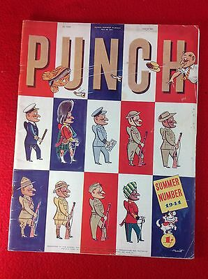 Vintage : PUNCH Magazine : 26th May 1941 : SUMMER ISSUE