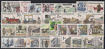 Czechoslovakia 1988, Complete Year Set Stamps, **mnh**