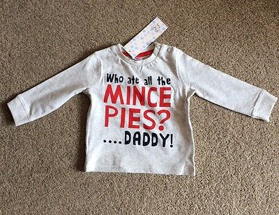 ** BNWT Baby Christmas Top Age 3-6 Months **
