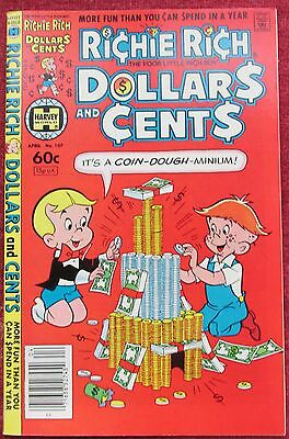 1982 Richie Rich: Dollars and Cents # 107...Very Fine/Near Mint...Uncirculated