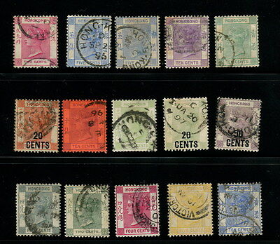 Hong Kong QV 15 diff fine used