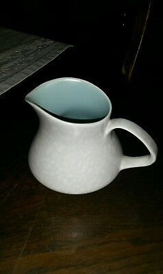 Poole pottery seagull and green milk jug