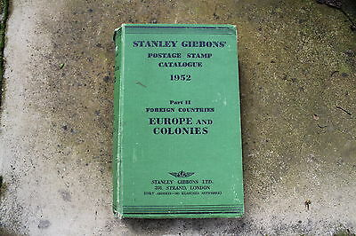 Stanley Gibbons Postage Stamp Catalogue 1952. Part II Foreign Countries. 49th Ed