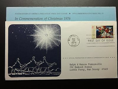 1976 Christmas First Day Cover