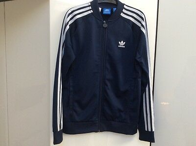 Adidas Girls Tracksuit Top 11-12 Years BLUE