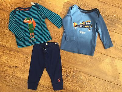Joules Baby Boy Fox Clothes 0-3 And 3-6