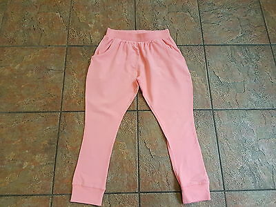 NEXT Girls Pink Jogging Bottoms - Age 12 Years Excellent Condition