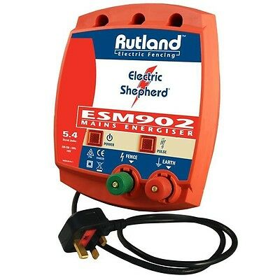 RUTLAND ESM 902 Mains Electric Fencing Fence Energizer + FREE TRACKED P&P