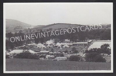 Breconshire Builth Wells Royal Welsh Show Real Photo B