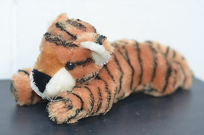 Sweet Tiger Plushie Soft Toy Approximate Length 12 inches Long