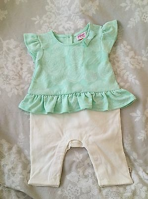 Baby By Ted Baker Newborn Baby Girl Jumpsuit Outfit All In One Brand New