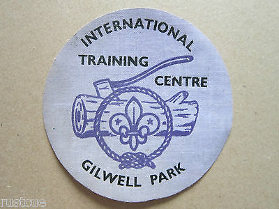 Gilwell Park Training Centre Cloth Patch Badge Boy Scouts Scouting