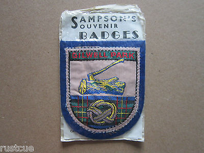 Gilwell Park Sampson's Woven Cloth Patch Badge Boy Scouts Scouting