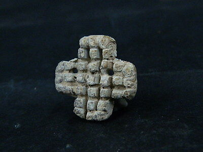 Ancient Lead Seal Bactrian 300 BC    #BR327