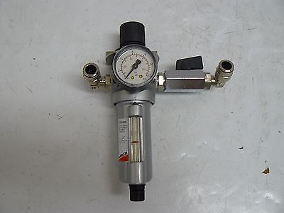 Camozzi C104-D00 Filter Regulator With Gauge And Valve
