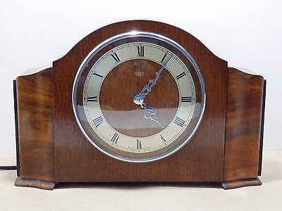 Art Deco Smiths Synchronous Westminster Chime Clock Model 259  working order