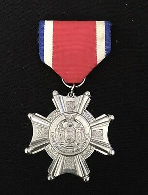 Conspicuous Service Cross Metal- New York -