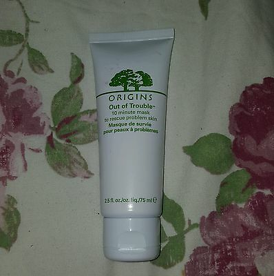 New Origins Out of Trouble 10 Minute Face Mask 75ml Salicylic Acid Healing Acne