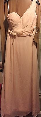 Bridesmaid/Prom Occasion Dress. Blush pink. Size 10 - 12