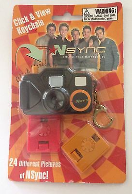 Nsync Click And View Keychain