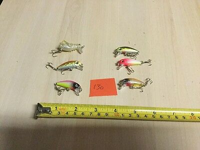 Job Lot Of Assorted Perch Trout Pike Fishing Lures