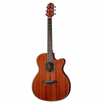 Crafter HTC-240EQ MH/BR Electro Acoustic Guitar (Mahoganny)