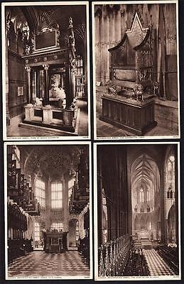 Lot of 13- Westminster Abbey, London, England UK - c.1930's Collegiate Church