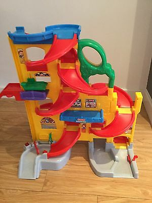 Fisher Price Little People Stand and Play Ramp way