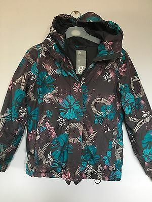 Roxy Girls Ski Snowboard Jacket Coat Age 10