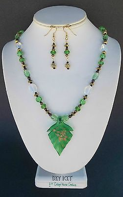 """DIY Necklace """"Chole"""" Jewelry Making Supplies Bead Kit with Instructions"""