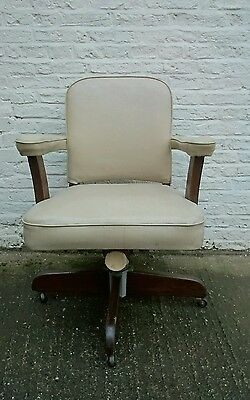 Mid Century Office Industrial Swivel Chair