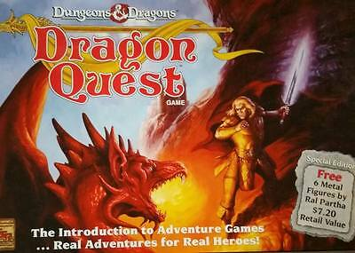 Dragon Quest Dungeons & Dragons Role Playing Board Game Special Edition 1992