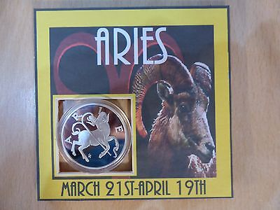 Silver coin (Aries) star sign