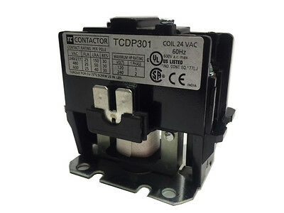 Tcdp301-W6 (277/60Vac) 30Amps Definite Purpose 1-Pole Contactor Without Shunt