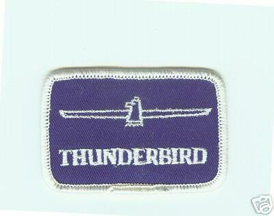 """Vintage (1970) """" Ford Thunderbird""""  Patch New"""