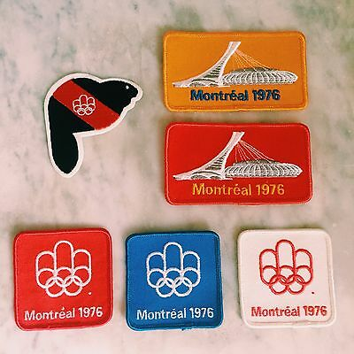 Montreal Olympics 1976 Patches (3)