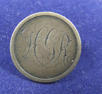 Love Token, 1877 Seated Liberty Dime, Letters HGR
