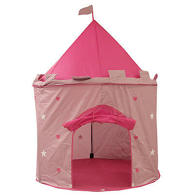Kids Children Princess Castle Play Tent  Indoor Outdoor Play House Girls